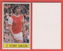 Arsenal Kenny Sansom England